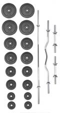 Činkový set PREMIUM kovový 100 kg